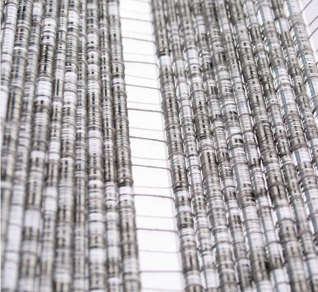 transparent woven